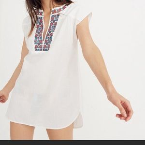 Madewell Embroidered Belize Cover-Up